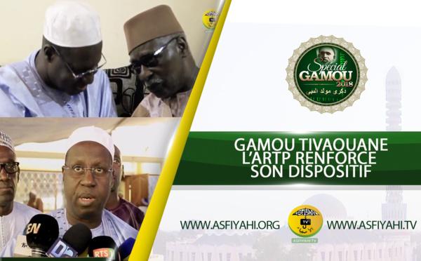 GAMOU TIVAOUANE 2018 - L'ARTP renforce son dispositif d'accompagnement du Mawlid , Son DG Abdoul Karim Sall reçu par le Khalif Général des Tidianes