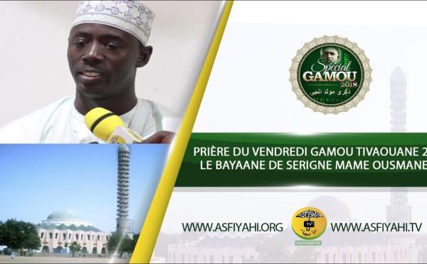 VIDEO -  Suivez La Prière du Vendredi Gamou Tivaouane 2018 - Le Bayaane de Serigne Mame Ousmane Sy