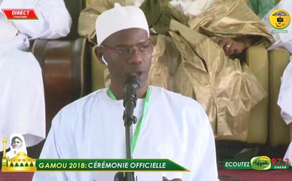 Gamou 2018 - Discours de Serigne Abdoul Hamid Sy Al Amine