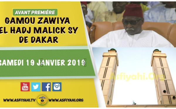 VIDEO - Suivez l'annonce du Gamou 2019 de la Zawiya El hadj Malick Sy de Dakar qui se tiendra Le Samedi 19 Janvier 2019