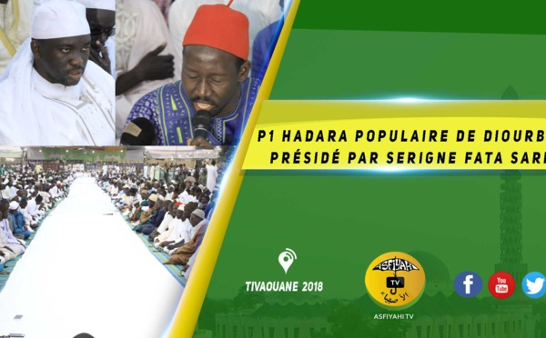VIDEO -  Suivez La Hadara Populaire de Diourbel Présidée par Serigne Fata Sarr