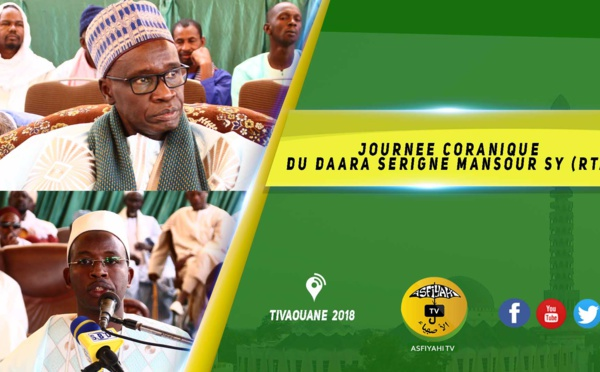 VIDEO -  Suivez la Journée Coranique du Daara Serigne Mansour Sy Borom DaaraJi présidé par Serigne Mame Malick SY Mansour et Serigne Maodo SY ibn Serigne Mbaye Sy Mansour