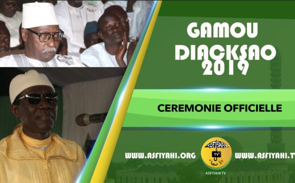 VIDEO - DIACKSAO 2019 - Suivez l'intégralité de la Cérémonie Officielle - Discours de Serigne Habib SY Dabakh, du Ministre de Serigne Abo Mbacké et du Khalif General des Tidianes, Serigne Babacar Sy Mansour
