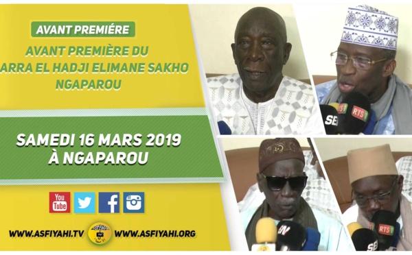 VIDEO - ANNONCE, ZIARRA El Hadji Elimane SAKHO le Samedi 16 Mars 2019 à Ngaparou
