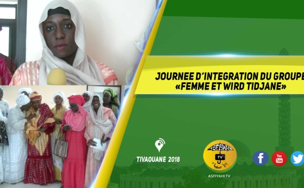 VIDEO -  Journée d'intégration du groupe «femme et wird tidjane»