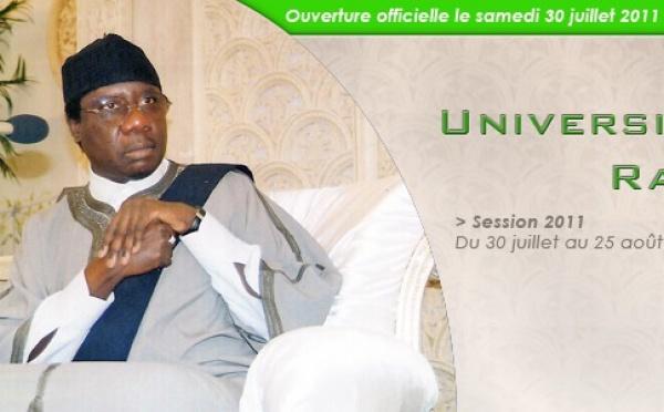 Ouverture Officielle des Universités du Ramadan ce Samedi 30 Juillet 2011