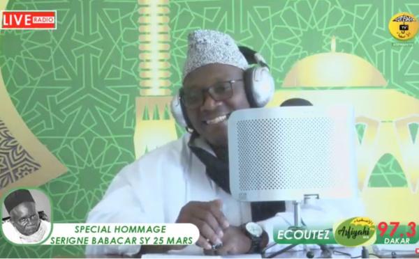 DIRECT 25 MARS - Special Serigne Babacar SY sur la Radio Asfiyahi FM 97.3 - Invité Serigne AHmed Sarr