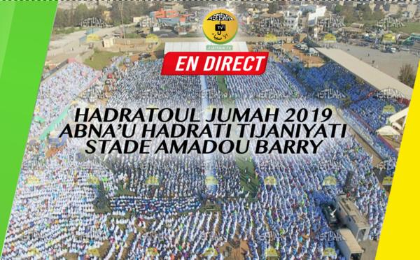 REPLAY -  STADE AMADOU BARRY - Revivez la Hadratoul Jumah 2019 Abnâ'u Hadrati Tidjaniyyati