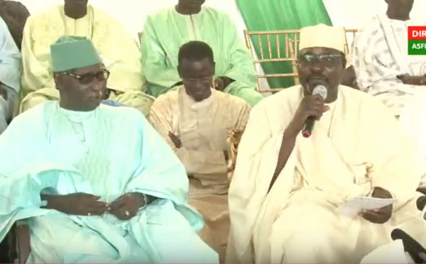 DIRECT OUAGOU NIAYES - Conférence de Serigne Pape Youssou Diop présidée par le Khalif General des Tidianes Serigne Babacar Sy Mansour