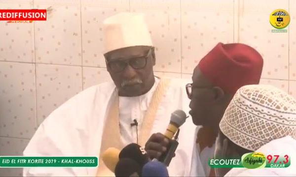 KORITE 2019 - Le Message du Khalif Général des Tidianes Serigne Mbaye Sy Mansour