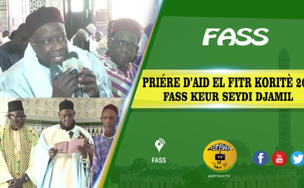 Prière d'Aid El Fitr koritè 2019 à Fass Keur Seydi Djamil