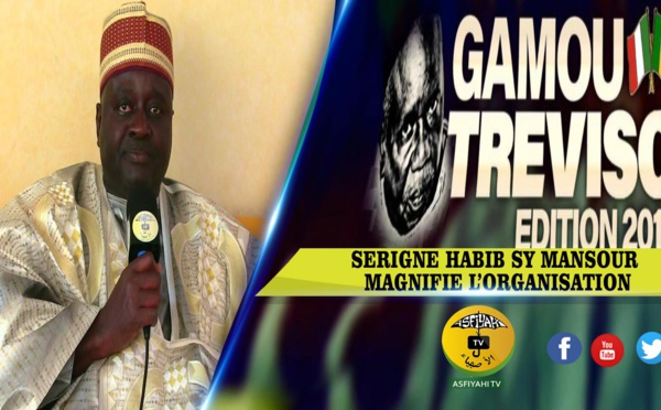 Treviso 2019 - Serigne Habib Sy Mansour magnifie l'organisation
