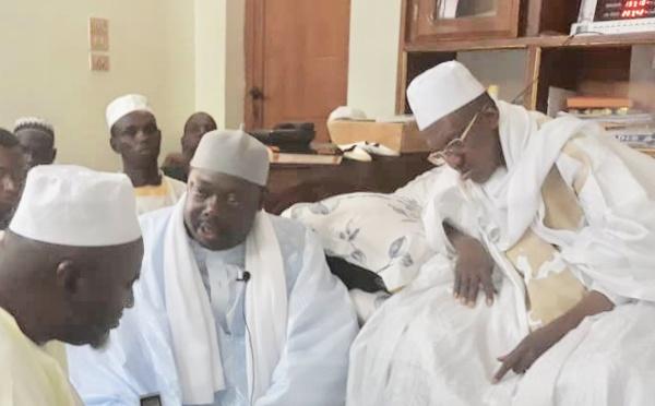 PHOTOS ET VIDÉO - CONDOLÉANCES: Le Khalif General des Tidianes envoie une forte délégation à Médina Gounass , suite au rappel à Dieu de Thierno Abdoul Aziz Bâ