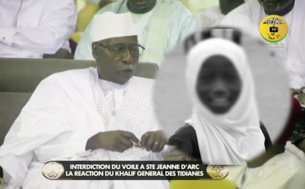 VIDEO - INTERDICTION DU PORT DU VOILE À JEANNE D'ARC: Le Khalif General des Tidianes condamne et interpelle l'Assemblée Nationale