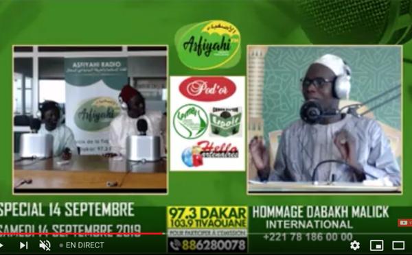 REPLAY - SPECIAL 14 SEPTEMBRE 2019  - Invité Serigne Cheikh Tidiane SY petit-fils de Mame Makhtar Penda Sy