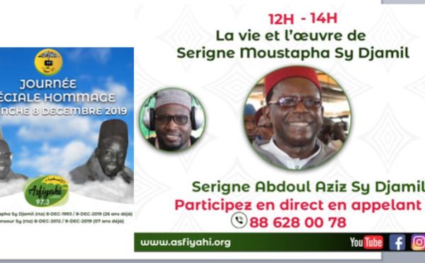 DIRECT - SPECIAL 8 DECEMBRE: Invité: Serigne Abdoul Aziz Sy Djamil: La vie et l'œuvre de Serigne Moustapha Sy Djamil