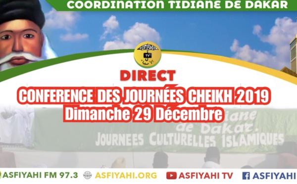 REPLAY -  GRANDE MOSQUEE - Conférence  des Journées Cheikh 2019 - Dimanche 29 Decembre - THÉME: Citoyenneté et Pureté, véritables valeurs de l'Islam Traité par Oustaz Abdoul Aziz Fall