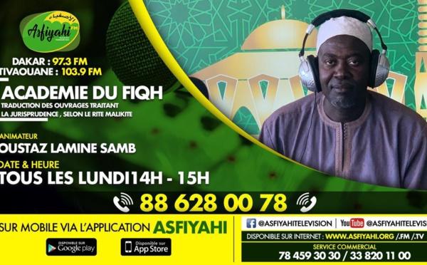 ACADEMIE FIQH DU 02 SEPTEMBRE 2019 PRESENTE: PAR IMAM LAMINE SAMB