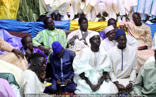 PHOTOS - THIES MEDINA FALL - Les images du Takussan Seydina Mouhamed (saw) organisé par Pape Moussa Mbaye