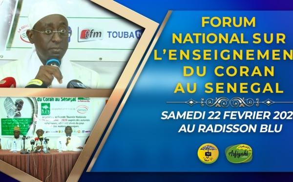 VIDEO - Enseignement du Coran au Senegal - L'AIS lance le Forum National, ce 22 Fevrier