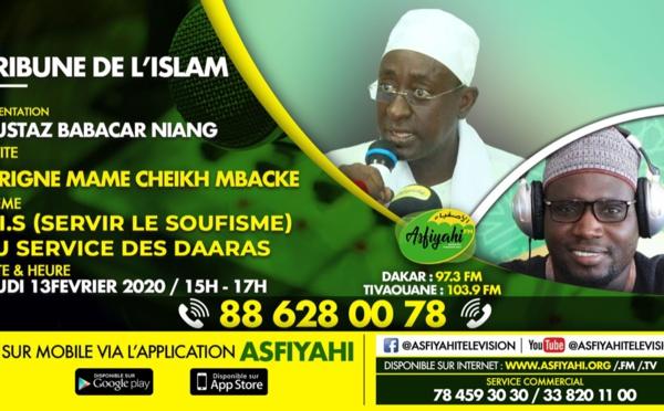 TRIBUNE DE L'ISLAM DU 13 FÉVRIER 2020 PAR OUSTAZ BABACAR NIANG INVITE SERIGNE MAME CHEIKH MBACKE