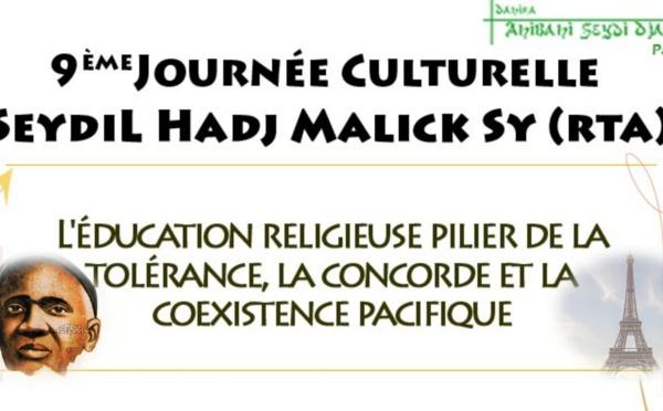 PARIS - Journée Culturelle Seydil Hadji Malick Sy, Vendredi 28 Février 2020 à Bobigny