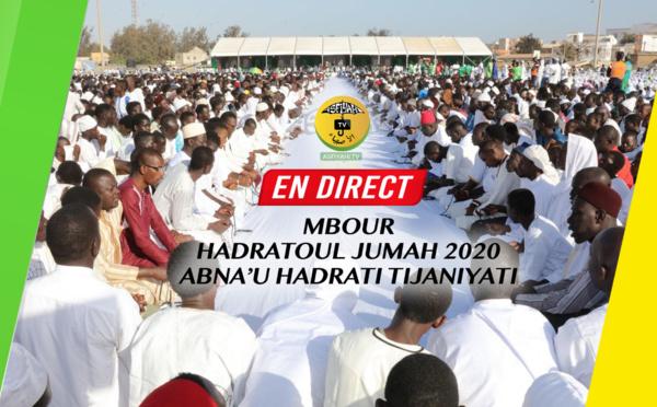 DIRECT MBOUR - Suivez la Hadratoul Jumah de Abna'U Hadraty Tidjaniyaty Section Mbour