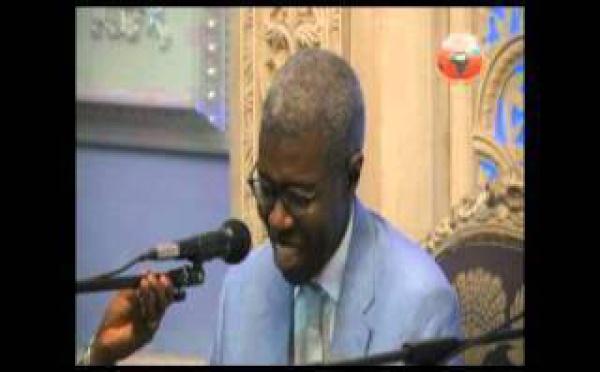 VIDEO - : Pr Souleymane Bachir DIAGNE  sur le Theme : L'espace et le temps dans la mystique ( UNIVERSITE DU RAMADAN 2012 )