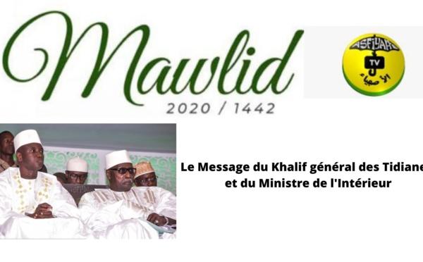 DIRECT - MAWLID 2020 - Le Message de Serigne Babacar Sy Mansour et du Ministre de l'intérieur