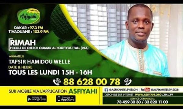 RIMAH DU 18 JANV 2021 PAR INVITE: OUSTAZ ABDOULAHI DIENG THEME: Naforé Diangdé alkhouran