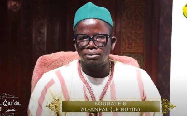 DIRECT ASFIYAHI TV: Tafsirul Quran SOURATE 8 AL-ANFAL (LE BUTIN) par Imam Mansour Seck