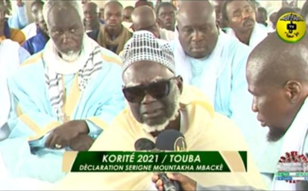 Touba - Korité 2021 : le message de Serigne Mountakha MBACKE, Khalif général des mourides
