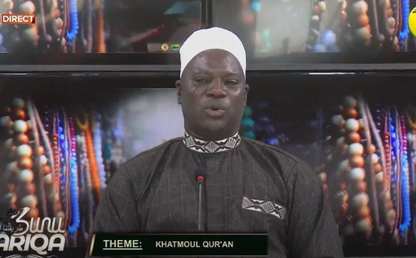 SUNU TARIQA DU MARDI 27 JUIILLET 2021 PAR CHEIKH AHMED TIDIANE SY BOUCHRA THEME: 'khatmoul Quran'