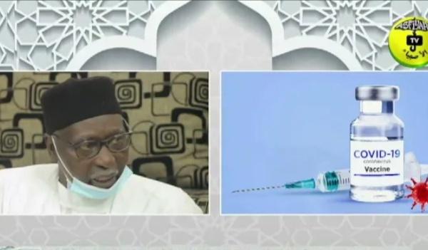 SANTE - Covid-19 : Le Khalife général des Tijanes invite les sénégalais à aller se faire vacciner.