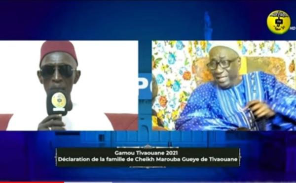 Gamou 2021 à Tivaouane : Déclaration de la famille de Cheikh Marouba GUEYE.