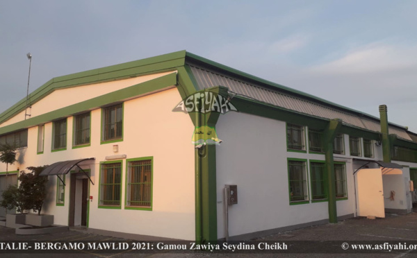 ITALIE - BERGAMO -MAWLID 2021: Gamou 2021 de la Zawiya Seydina Cheikh de Bergamo