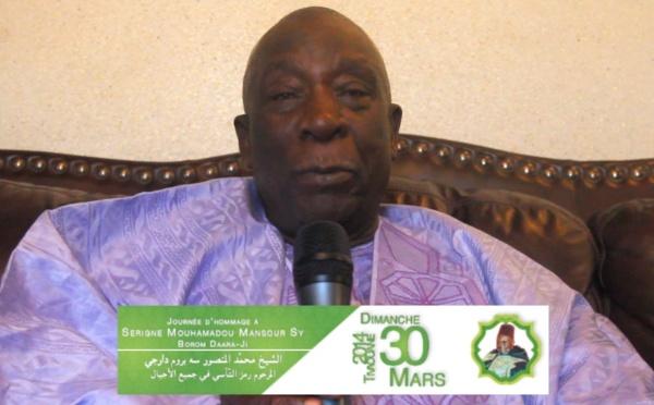 EVENEMENT 30 MARS À TIVAOUANE > L'annonce d'El Hadj Mansour Mbaye