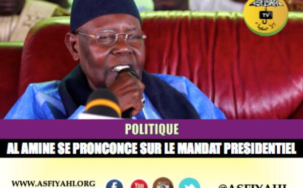 VIDEO - MANDAT PRÉSIDENTIEL : Serigne Abdoul Aziz Sy Al Amine se prononce