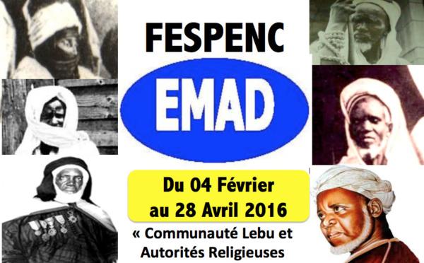 5iéme Edition du Festival Mémoire des Penc et Villages de Dakar (FESPENC) « Ndakaaru Demb » sur le thème : « Communauté Lebu et Autorités Religieuses du Sénégal » du 04 Février au 28 Avril