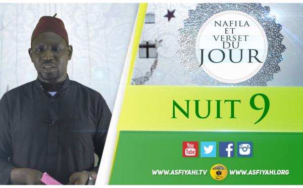 NUIT 9 - Votre Nafila et Verset du Jour