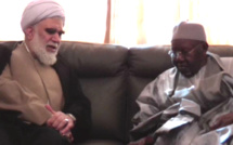 TIVAOUANE - L'Ayatollah Hassan Akhtari, conseiller du Président Iranien, reçu par Serigne Abdoul Aziz SY Al Amine