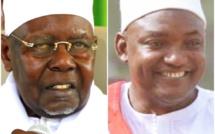 Le nouveau President Gambien Adama Barrow à Tivaouane ce Vendredi 3 Mars 2017