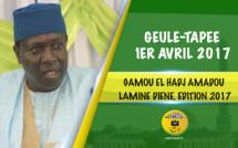 VIDEO - 1ER AVRIL 2017 - Suivez le Gamou El hadj Amadou Lamine Diéne, édition 2017, présidé par Serigne Habib Sy Ibn Serigne Cheikh Tidiane Sy Al Maktoum