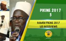 3EME PARTIE - GAMOU PIKINE 2017 - Entretien avec Serigne Dame Diop Mansour , Serigne Hassane Sy et Serigne Cheikh Fall
