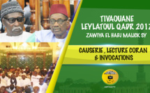 VIDEO - TIVAOUANE - Suivez la Celebration de la Leylatoul Qadr à la Zawiya El Hadj Malick Sy en compagnie de Serigne Mbaye Sy Mansour et Serigne Maodo SY Dabakh
