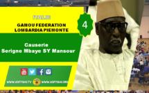 VIDEO - ITALIE - VARESE : Suivez le Gamou de la Fédération Lombardia Piemonte 2017 présidé par Serigne Mbaye Sy Mansour
