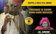 VIDEO - RAPPEL À DIEU D'AL AMINE - Témoignage D'Ahmad Barro Ndieguene