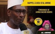 VIDEO - RAPPEL À DIEU D'AL AMINE - Témoignage de Ahmed Bachir Kounta