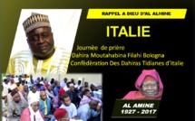 VIDEO - ITALIE - RAPPEL A DIEU D'AL AMINE : Journée de prière dédié à Serigne Abdoul Aziz Sy Al Amine présidée par Serigne Habib SY Mansour