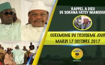 VIDEO - Cérémonie 3ieme Jour Rappel à Dieu de Sokhna Fatsy Mansour - Discours de Serigne Pape Malick Sy et de Serigne Mbaye Sy Mansour